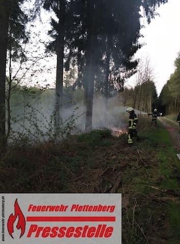 Photo of Waldbrand nach zündeln mit Feuerwerk