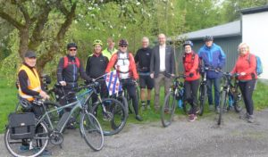 Drolshagener Radfahrer auf dem Weg nach Joure/Niederlande