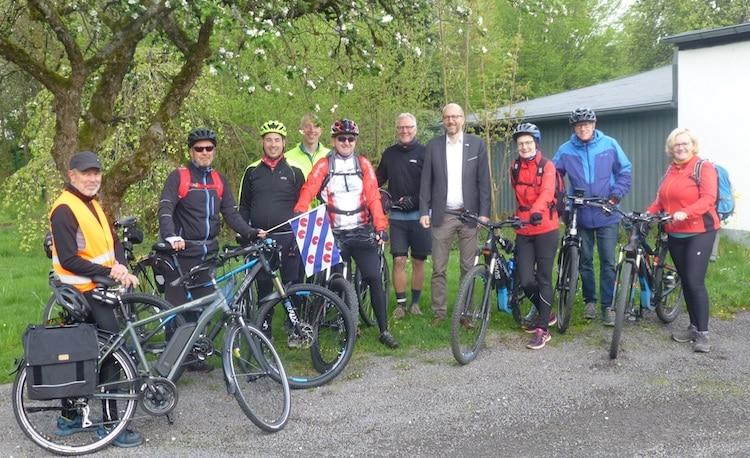Photo of Drolshagener Radfahrer auf dem Weg nach Joure/Niederlande