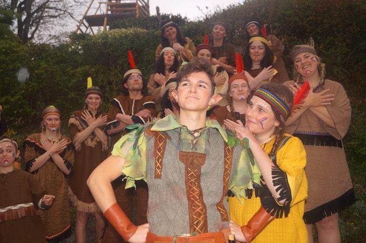 Photo of Peter Pan und Kohlhiesels Töchter auf der Freilichtbühne Hallenberg