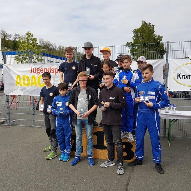 Photo of Olper Motorsport-Nachwuchs fährt in Westfalen in der Erfolgsspur