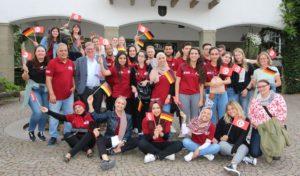 Rathaus empfängt Teilnehmer am deutsch-tunesischen Austausch