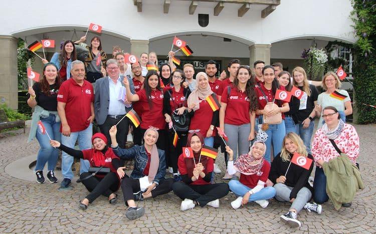 Photo of Rathaus empfängt Teilnehmer am deutsch-tunesischen Austausch