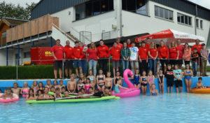70 Mädchen und Jungen beim Rothaarbad-Camp in Bad Berleburg