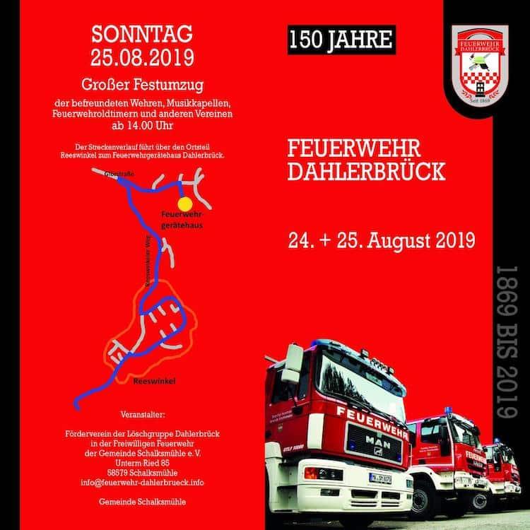 Photo of FW Schalksmühle: Jubiläum 150 Jahre Löschgruppe Dahlerbrück