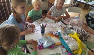 Künstlerisches, Tierisches und Literarisches bei den Ferienspielen