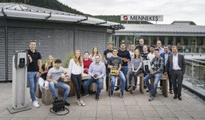 Durchstarten in die Zukunft bei Mennekes mit Nachwuchstalenten