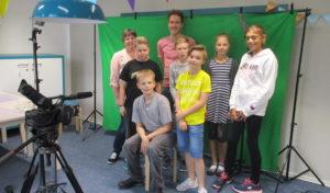 Junge Briloner freuen sich über Filmworkshop im Sommerleseclub