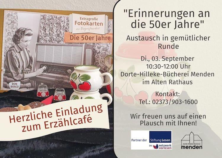 Photo of Erzählcafé in der Stadtbücherei in gemütlicher Runde