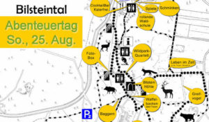 Abenteuertag im Bilsteintal in Warstein am So., den 25. August