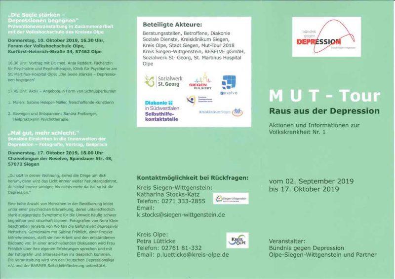 """Photo of Aktionen und Informationen zur """"Volkskrankheit Nr. 1"""""""