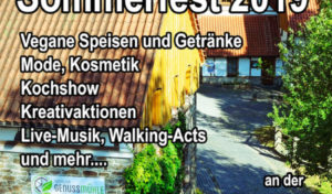 Veganes Sommerfest 2019 Heesfelder Mühle / Lüdenscheid vegan