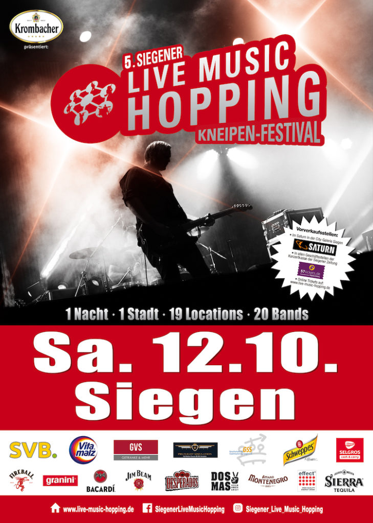 Photo of Kneipenfestival Live Music Hopping in Siegen findet zum 5. Mal statt