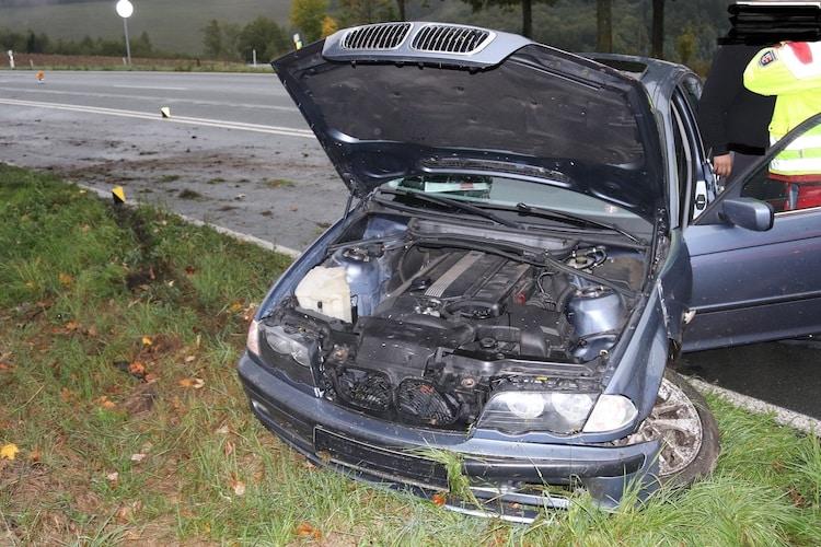 Photo of Zwei Verletzte bei Verkehrsunfall