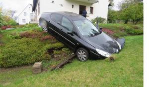 Unfall mit gestohlenen Kennzeichen
