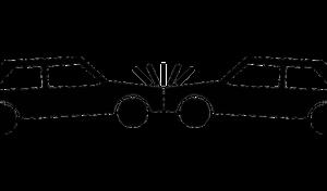 LKW rammt Fahrschulauto