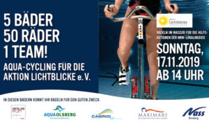 Aqua-Cycling: Aktion Lichtblicke e.V