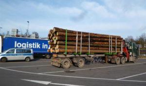 Um 13 Tonnen überladen