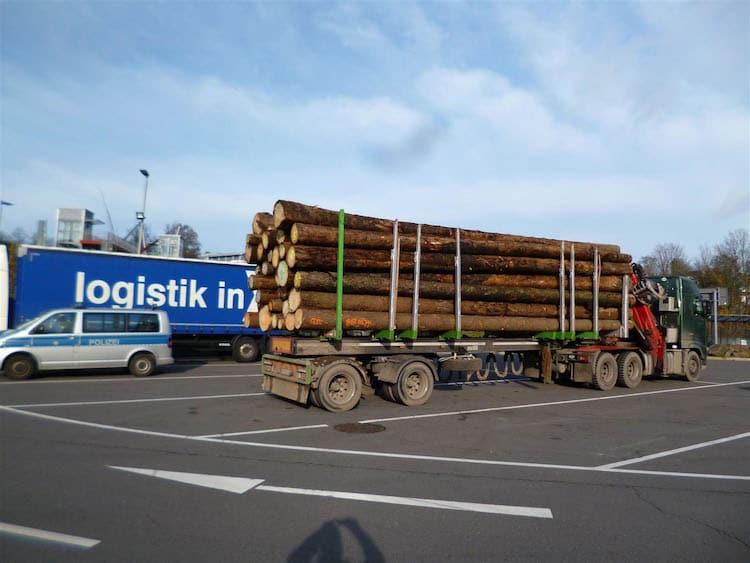 Photo of Um 13 Tonnen überladen