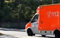 Sprinter fährt gegen Arbeitsbühne