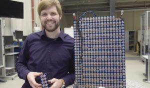 Batterie aus recycelten Akkuzellen