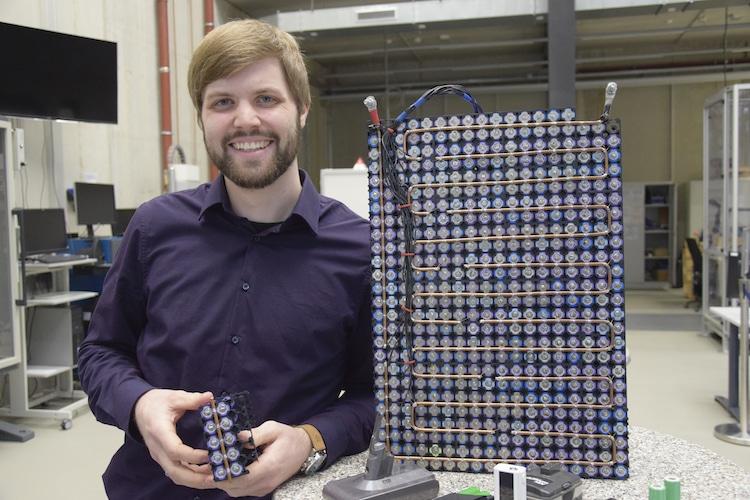Photo of Batterie aus recycelten Akkuzellen