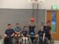 Rollstuhlbasketballer im Landesfinale