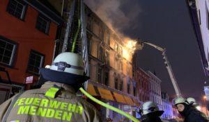 Feuerwehr-Einsatz bei Großbrand