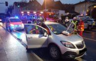 Verkehrsunfall Mendener Straße