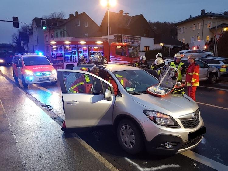 Photo of Verkehrsunfall Mendener Straße