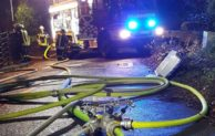 Feuerwehr rettet Menschen