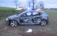 Verkehrsunfall auf dem Bräukerweg