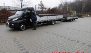 LKW um fünf Tonnen überladen