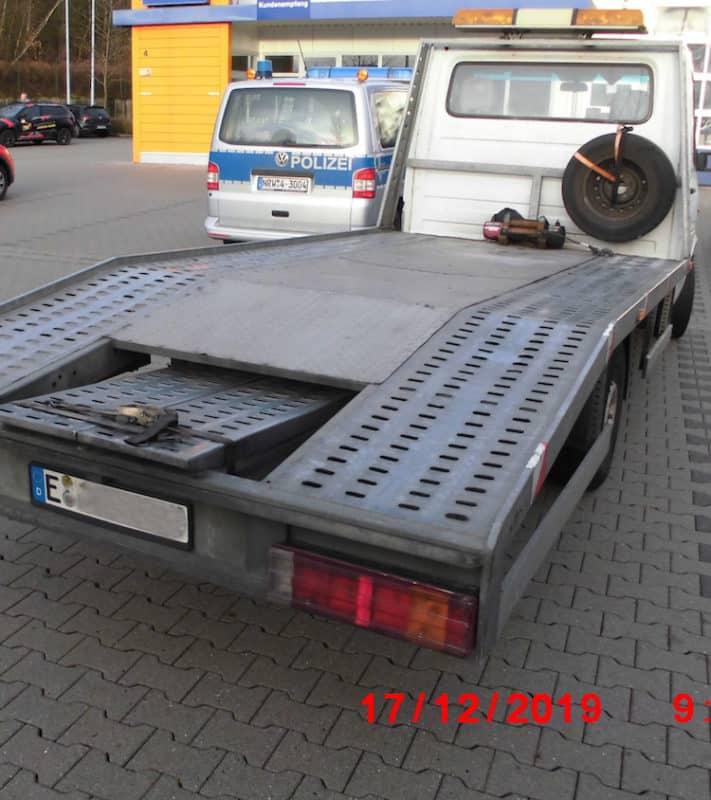 Photo of Abschleppwagen mit 68 Mängel