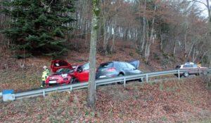 Verkehrsunfall auf der L737