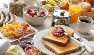 Pflegeeltern-Frühstück
