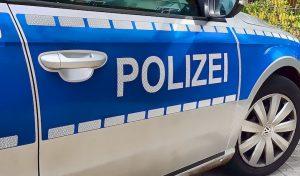 Verkehrskontrolle – Fanzösicher Pkw