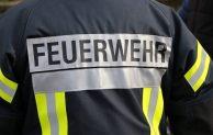 Zimmerbrand in Wohnheim