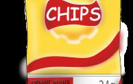 Chips-Dieb angefahren