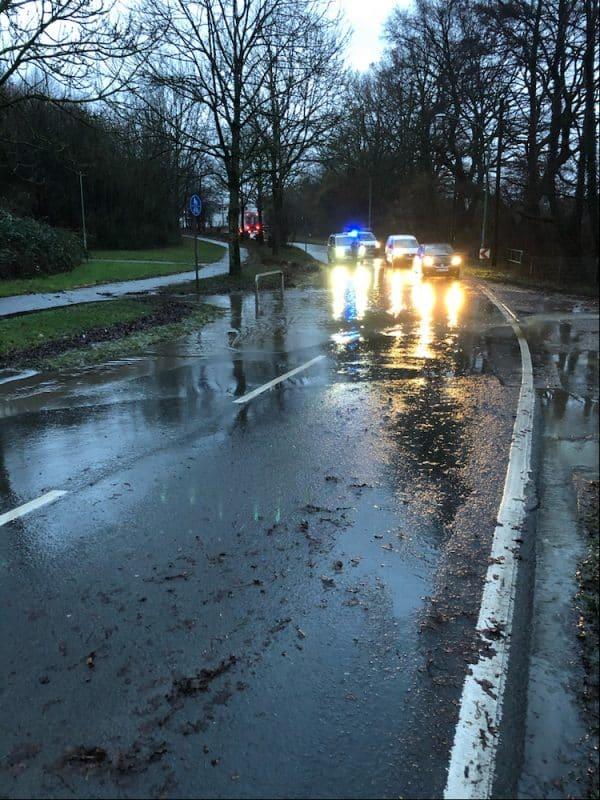 Photo of Sauerlandstraße unter Wasser