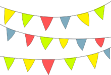 Photo of Wimpelketten für das Kinderzimmer