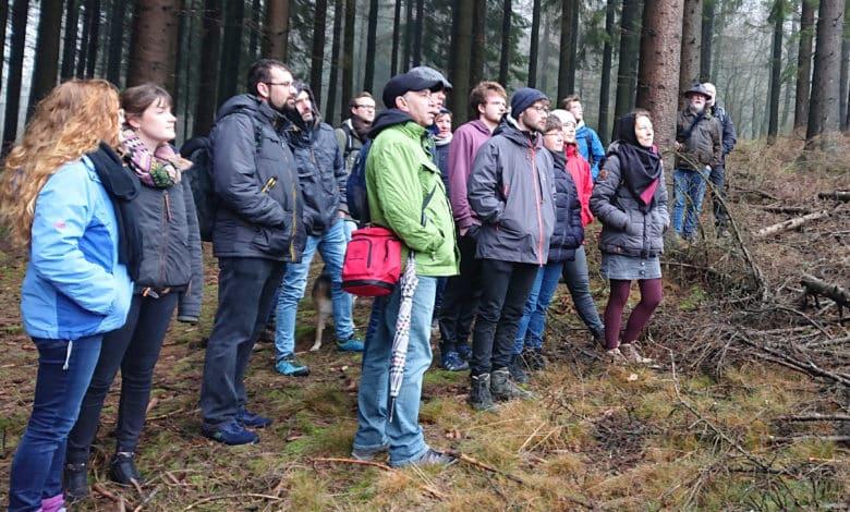 UDW Winterwanderung 2020 in Drolshagen.