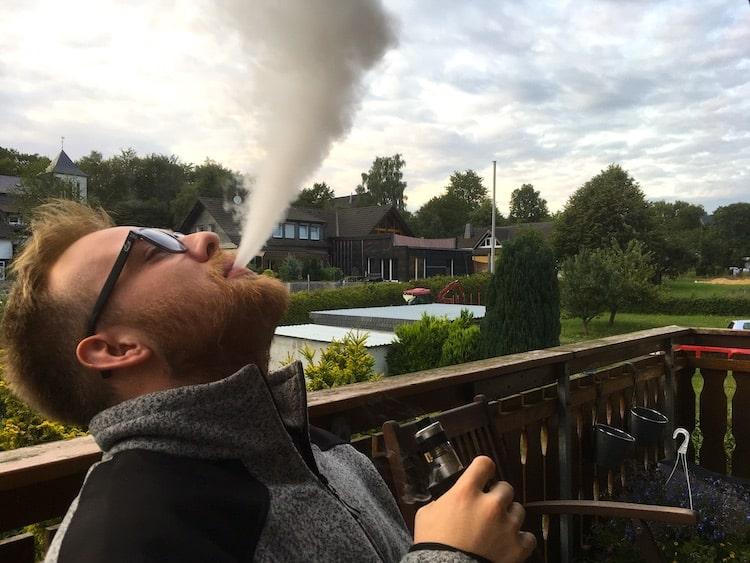 Dampfen Rauchen