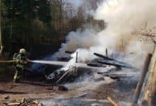 Photo of Unter dem Asenberg – Gartenhaus abgebrannt