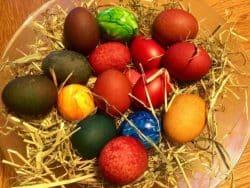 Zu Ostern gibt es viele Traditionen.