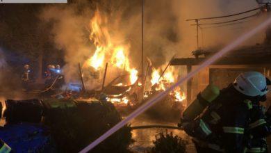 Photo of Carport-Brand in Kückelheim wurde zu Großfeuer