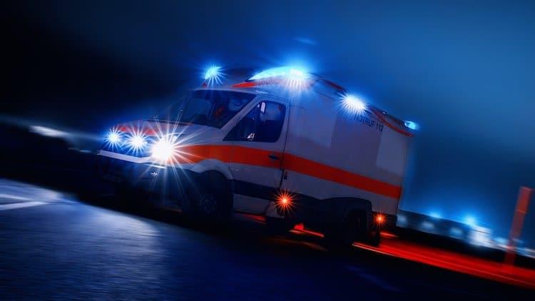 2020-05-25-Hubertusweg-Krankenfahrstuhl-Verkehrsunfall-Verkehrsunfall-Verkehrsunfall-Steinbruch-Schleudern