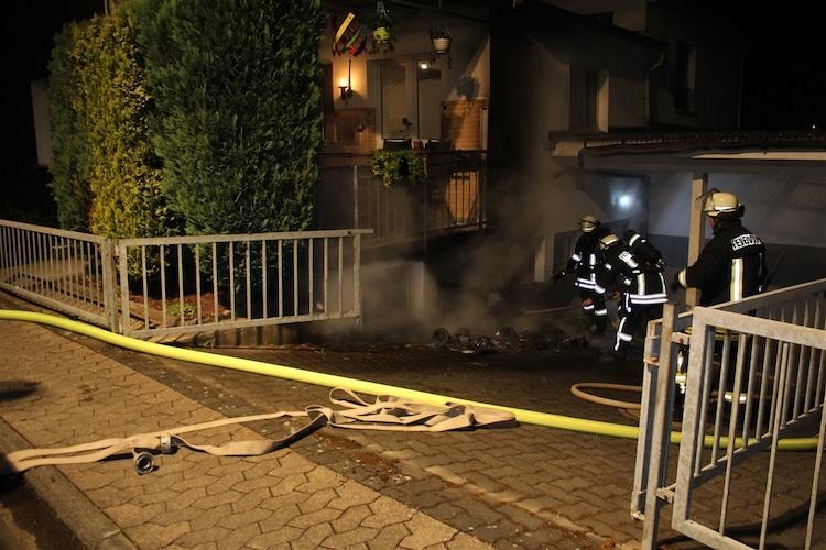 Photo of Gebäude durch Mülltonnen-Brand beschädigt