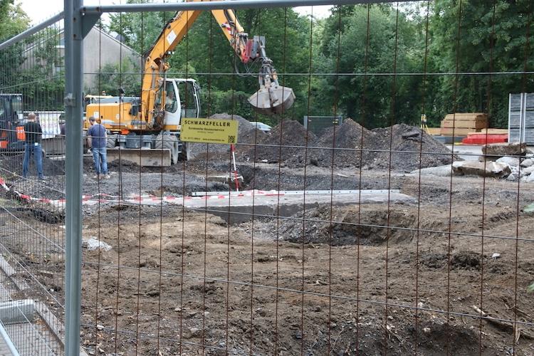 Photo of Unerwarteter Fund eines Bunkers auf Baustelle