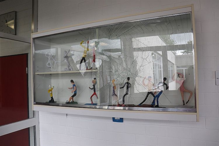 Photo of Sachbeschädigung an der Sekundarschule Olpe